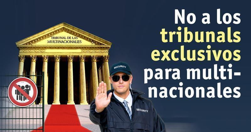 no tribunales exclusivos