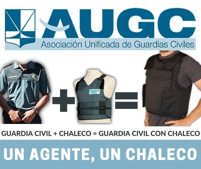chalecos guardia civil