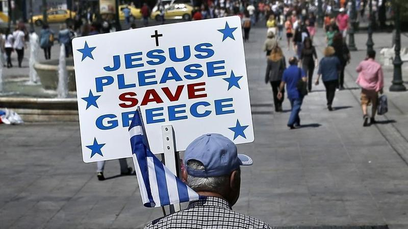 jesus please save greece