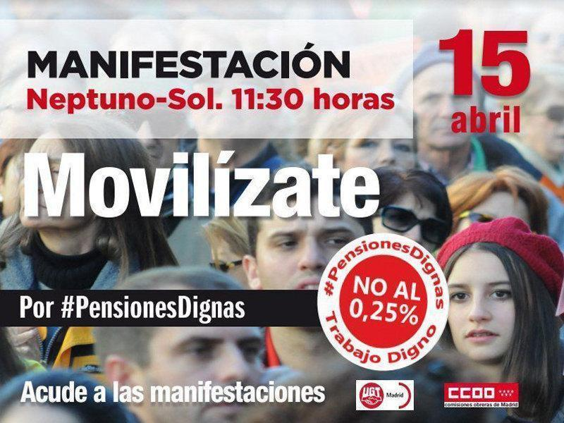 MANI PENSIONES 15 DE ABRIL EN MADRID WEB