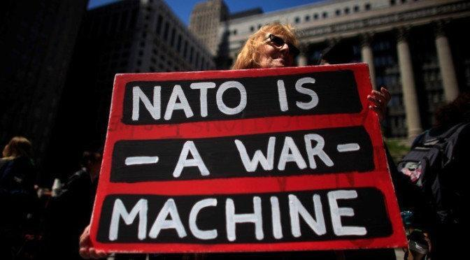 nato is a war machine