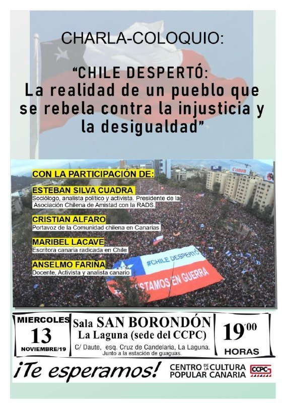 DESPERTÓ CHILE