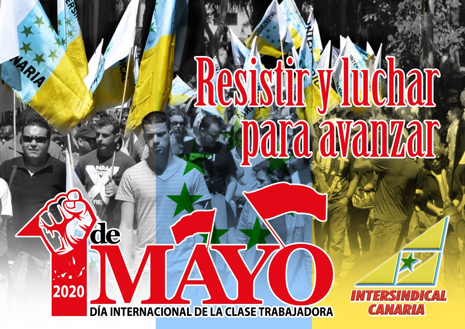 CARTEL 1 MAYO INTERSINDICAL
