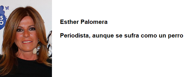 esther palomera reseña