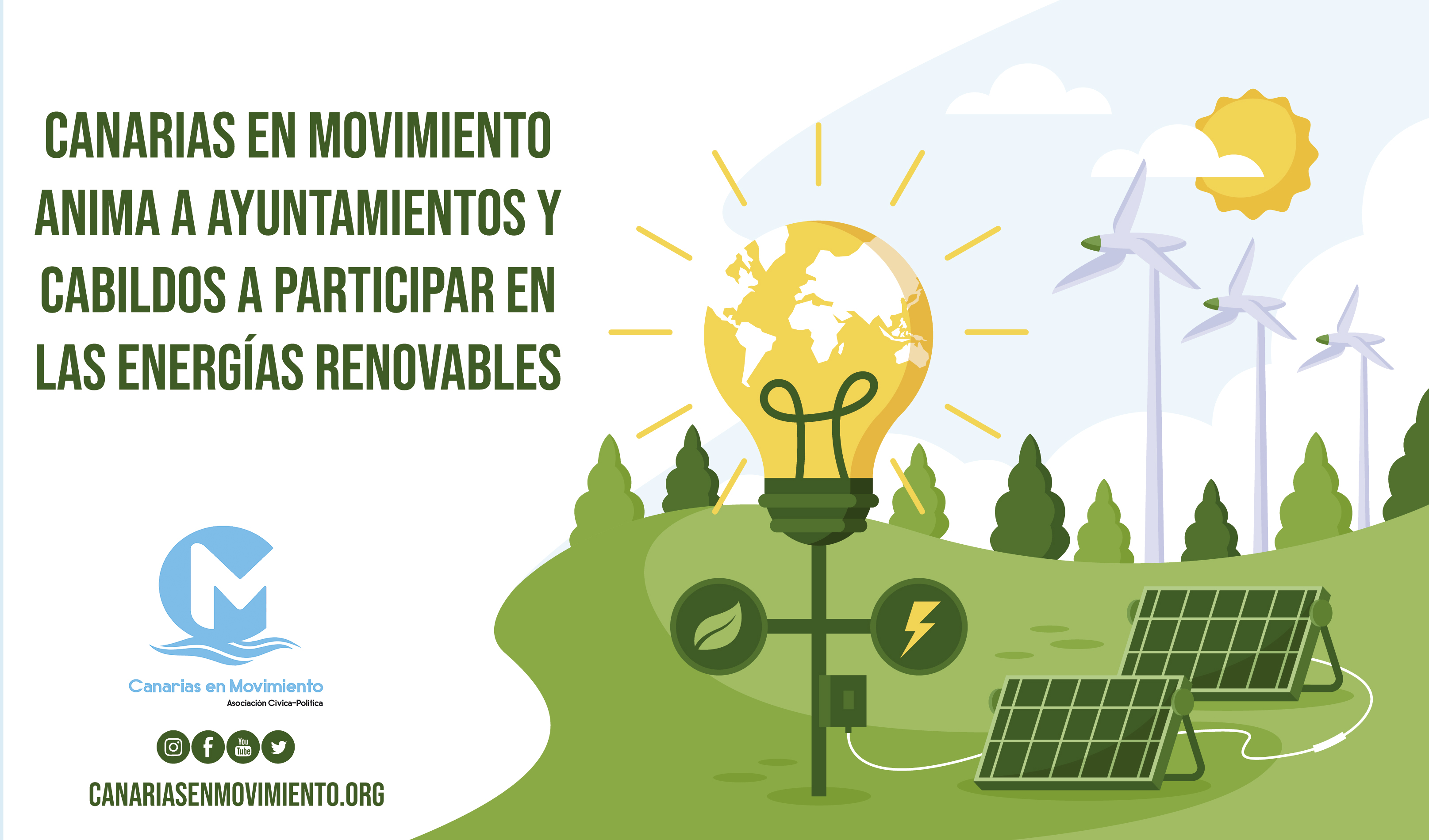 energias CANARIAS MOVIMIENTO