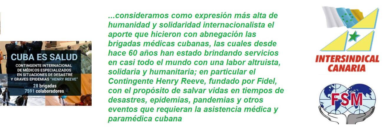 frase intersindical canaria  henry reeve